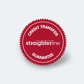 StraighterLine Credit Transfer Guarantee logo